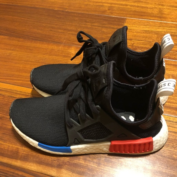reputable site 30539 d5dba adidas Other - Men Adidas NMD R1 Primeknit OG Core Black Blue Red